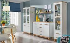 Hochwerte Designer Display Case Wardrobe Glass Cabinets Shelf Wall Closets New