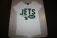 NWT TEAM APPAREL WOMENS NEW YORK JETS SHIRT - SIZE LARGE - RETAILS FOR $30!!!