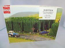 HO Scale Busch 1215 Hops Field Kit w/ 44 plants approx 60 mm High 110 x 90 mm