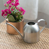 500ML MODERN STAINLESS POT INDOOR HOUSE PLANTS LONG SPOUTWATERING CAN Wonderful