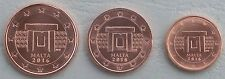 1+2+5 Euro Cent Malta 2016 unz