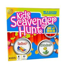 Cheatwell Games KIDS SCAVENGER HUNT Board Game - Be a Clever Collector