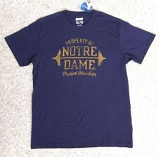 NOTRE DAME FIGHTING IRISH PROPERTY OF NOTRE DAME PHYSICAL EDUCATION XL T SHIRT