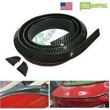 Universal PU Trunk Lip Spoiler or Roof Spoiler Body Kit Trim Sticker 4.9ft USA