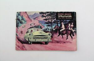 1953 Plymouth - Collectible Owner's Manual - Antique / Vintage - 1st Edition