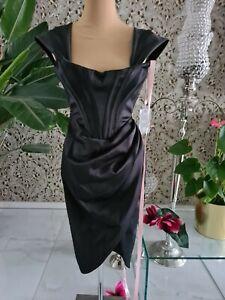 15 house of cb Kleid Abendkleid Etuikleid Corsagenkleid in schwarz Gr S NEU 209