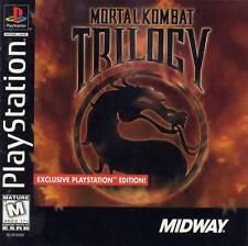 Mortal Kombat Trilogy - PS1 PS2 Complete Playstation Game