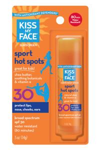 2 Kiss My Face Sport Hot Spots SPF 30 2 0.5 oz Tubes Exp 05/2021