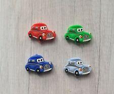 🌸UK SELLER🌸  Car silicone beads. 4 PCS (Mixed Colours) BPA free