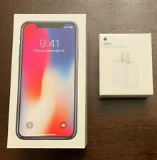 Apple iPhone X - 256GB - Grey (Unlocked: CDMA & GSM) Comes with AirPods!