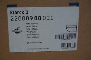Duravit Starck 3 Wand Tiefspül-WC weiß WonderGliss; 22000900001 - SOFORT !