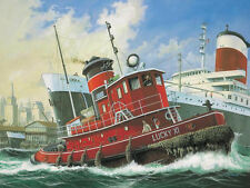Revell 1 108 Scale Harbour Tug Boat