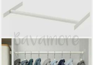 "IKEA AURDAL Extendable clothes rail, White, 22⅜"" -35⅜"""