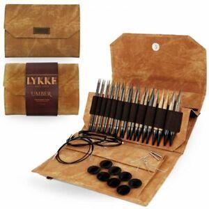 LYKKE Interchangeable Circular Knitting Needle Set 5in Tips