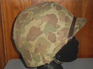 WW2 USMC Set - USMC M1 Helmet & USMC Poncho