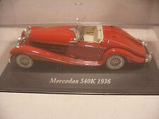 voiture 1/43 eme IXO ALTAYA Classics MERCEDES 540K 1936