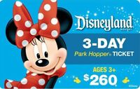 DISNEYLAND CALIFORNIA PARK HOPPER 2 TO 5 DAY Ticket Discount TOOL