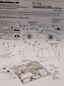 Mod90 1/43 TK.016 Transkit Ferrari 250 GTO 1962 NEW