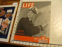 Vintage Life Magazine: AUG 31 1942: ENSIGN GAY- TORPEDO SQUADRON 8; WALT DISNEY
