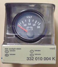 VDO Cockpit 52mm Voltmeter for 4WD Nissan Toyota Mitsubishi Ford Subaru VW Audi