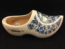"12.5"" INCH DECORATIVE WOODEN CLOG-DE VROOMEN HOLLAND GARDEN PRODUCTS 1975-2000"