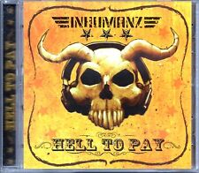 INHUMANZ -Hell To Pay- 16 track CDr Mix 50 Cent Eminem AC/DC David Bowie Led Zep