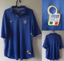 1997-1998 Italy Short Sleeve Nike Home Football Shirt Large