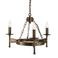 Plafonniers et lustres suspensions Elstead en fer pour la maison