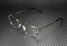 VERSACE VE1257 1256 Gunmetal Demo Lens 55 mm Men's Eyeglasses