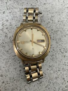 Gold Colour 1969 Seiko 5 automatic vintage watch 6119-6000 Automatic Movement,