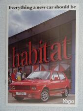 Yugo brochure 1985 - 311,511,513,45,55,55GLS,311Van