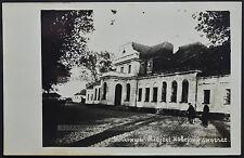 Pocztowka Wołkowysk Dworzec Kolejowy Railway Station Volkovysk postcard (1346)
