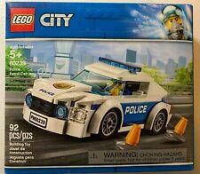 LEGO City 60239 Police Patrol Car Build Set w/ Officer & Police Car (92 pc) NEW