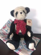 """Boyds Bears """"Arlo"""" 18"""" Plush Panda Bear- #904756- Pre-owned"""