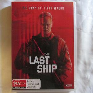 The Last Ship Season 5 Box DVD Set