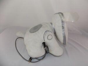I-Dog Soft Speaker - plush doll - Hasbro 2008 - IPod / MP3 white dog