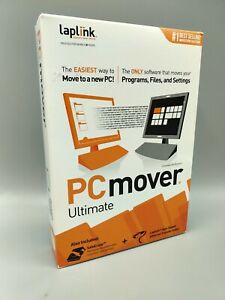 Laplink Software PCmover Ultimate -  NEW - Windows 8, 7, Vista & XP - A2