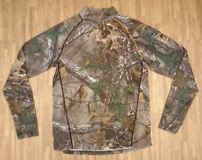 Field & Stream RealTree Camouflage Hunting Long Sleeve Shirt ~ Youth XL Fitted