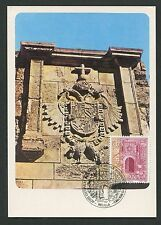 SPAIN MK 1983 MELILLA PUERTA SANTIAGO MAXIMUMKARTE CARTE MAXIMUM CARD MC d4094