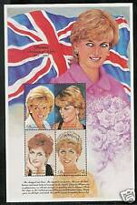 DOMINICA # 2010 PRINCESS DIANA MEMORIAL MINIATURE SHEET