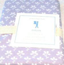Pottery Barn Kids Evelyn Lavender Pillowcase Standard 20 x 30 NIP Flower Purple