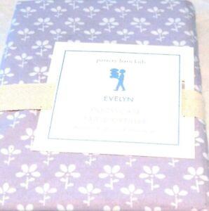 Pottery Barn Kids Evelyn Lavender Pillowcase Standard 20 x 30 NIP Flower Purple