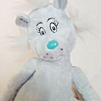 "Dr. Seuss If I Ran The Zoo Gray Cat Natch Kohl's Cares 19"" Stuffed Plush Doll"