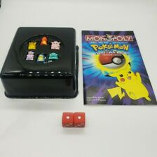 Pokemon Monopoly All 6 Pokemon Replacement Pieces, Dice And Manual Included Too.