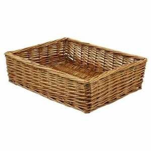 Padstow WICKER Tray | Willow HAMPER Basket | Gift & Storage Use multiple sizes