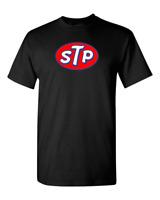 STP Vintage Logo T-Shirt Style Auto Racing Motor T Shirt