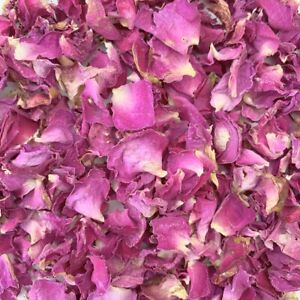 50 Guests Natural Biodegradable Wedding Confetti Dried Pink Rose Petals Flower