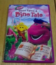 Barney ONCE UPON A DINO TALE DVD VIDEO BRAND NEW