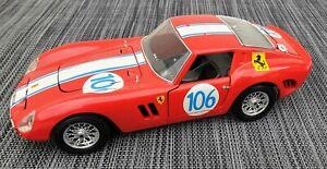 Bburago, Ferrari GTO 1962, rot, 1/18, #553