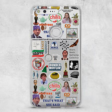 The Office TV Show Case for Samsung S20 S10e S10 S9 S8 Plus Google Pixel 4 Cover